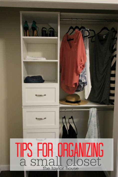 how to organize a small closet how to organize a small closet the taylor house