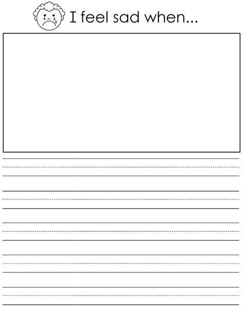 pattern recognition journal word template kindergarten drawing and writing worksheets lined