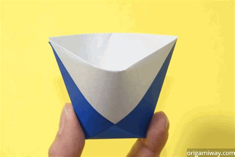 Easy Origami Cup - origami origami way