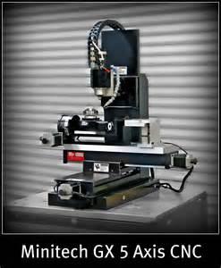 Home 5 Axis Cnc mini mill gx minitech cnc machines call 702 612 5534