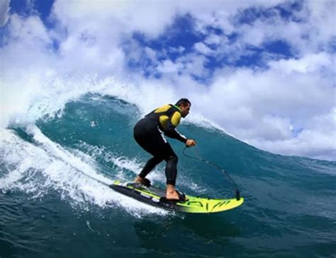 Sale Surfing by Jetsurf Is A Lightweight Compact 35mph Motorized Surfboard