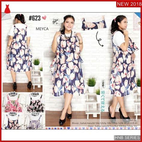 hnb model dress batik halter ukuran besar jumbo bmg