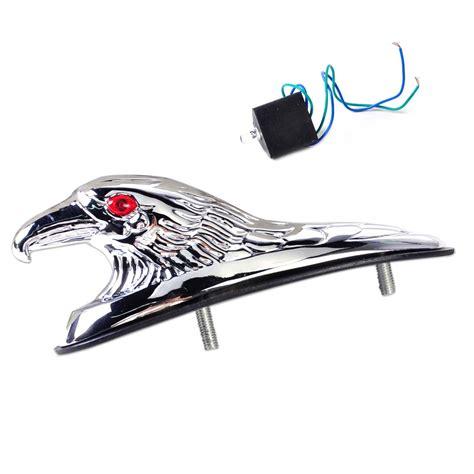 eagle honda metal eagle ornament mount front fender light for