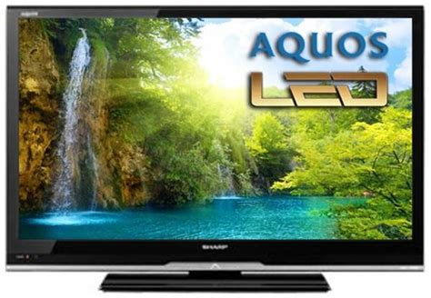 Second Led Sharp 32 sharp lc 32le240m 32 quot multi system led tv 110 220 240 volts pal ntsc