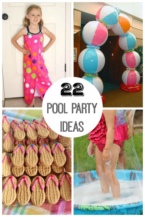 Summer Pool Party  Ee  Ideas Ee   When Its Hot Outside Make