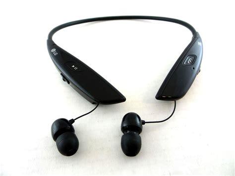 Headset Bluetooth Lg Tone Ultra lg tone ultra hbs 810 headphones wireless bluetooth stereo headset black