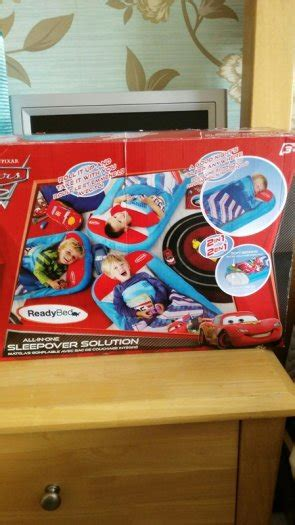 blow up car bed disney cars blow up bed for sale in balrothery dublin