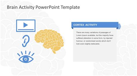 Brain Activity Powerpoint Template A Template In Powerpoint
