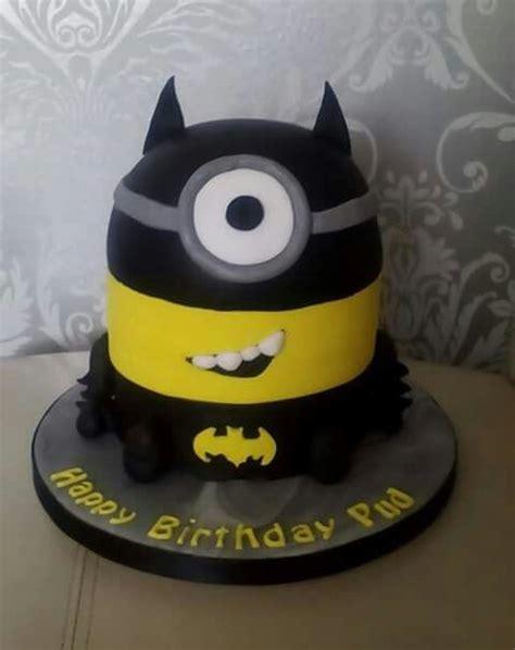 batman minion cake   mara   birthday cake cupcake cakes  birthday cake