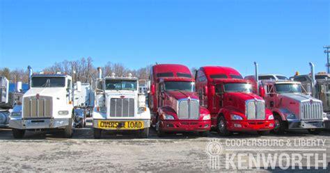 used kw trucks used kenworth trucks parts coopersburg liberty kenworth