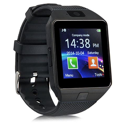 Smartwatch Gsm Dz09 Smartwatch Watchphone Gsm For Android Black