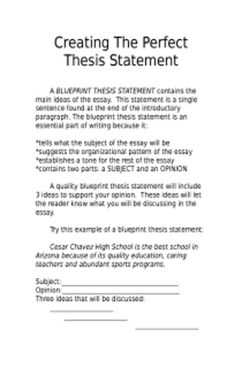 thesis statement about education reform creating a thesis statement thesis statements