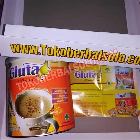 Gluta Drink 250 Gram glutadrink minuman herbal pemutih kulit toko herbal