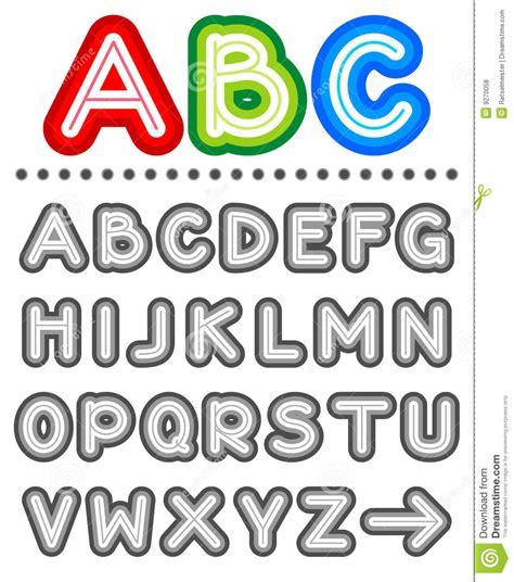 foto lettere alfabeto riga insieme di alfabeto delle lettere fotografie stock