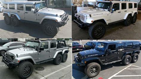 6 Wheel Jeep 2017 Jeep Wrangler Unlimited 6 Wheel Jeep Na Prodej
