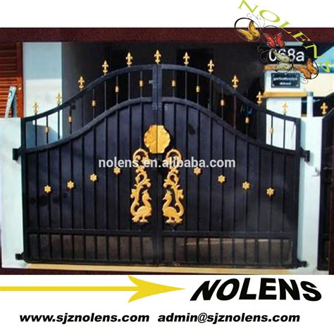 design of gate for house design gate house modern house