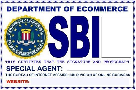 special id card template sbi ecommerce department bureau of affairs