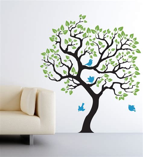 Wall Decal Nursery Tree Wall Decal Baby Nursery Tree Wall Sticker Size