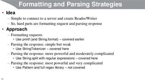 java split pattern quote java 8 programming tutorial network programming clients