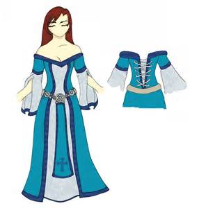 Textures For Paint Tool Sai - medieval dress design by raitei044 on deviantart