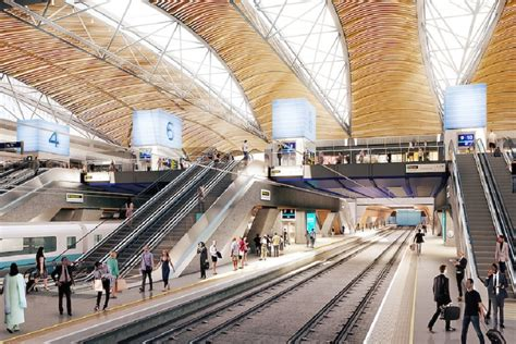 design competition urged for hs2 viaduct khan calls for freeze on euston hs2 redevelopment news