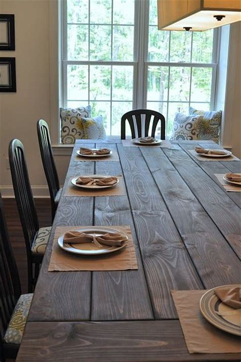 Building Your Own Dining Room 53 Best Images About Farmhouse Table Diy On