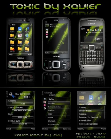 themes android s60v3 nokia n95 theme download for free daily mobile