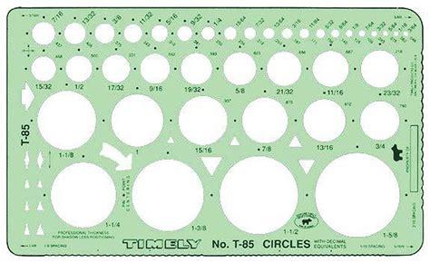 drafting templates timely t 85 circle drafting template circle drawing