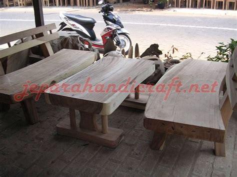 jual kursi bangku taman trembesi solid wood murah