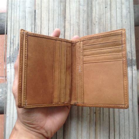 Dompet Kulit Pria Sapi Asli 34 Coklat Asli Garut jual termurah dompet kulit sapi asli pria model berdiri coklat baetus