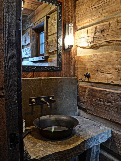 cabin bathroom designs 1000 ideas about rustic bathroom designs on pinterest