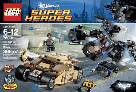 Lego Superheroes 76001 The Bat Vs Bane Tumbler toys n bricks lego news site sales deals reviews mocs new sets and more