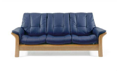 Navy Blue Reclining Sofa The Stressless Low Back Leather Sofa Navy Blue Leather Reclining Sofa Iasc 2015