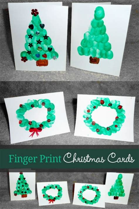 cute holiday cards for kids to make simple enough for a easy and cute diy christmas crafts for kids page 3 of 3