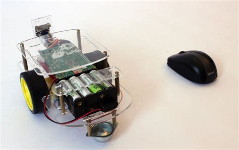 project pidesk a raspberry pi controlled futuristic mouse controlled robot with the raspberry pi gopigo