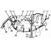 Suzuki Sidekick Geo Tracker Engine Compartment Relay Wiring Harness