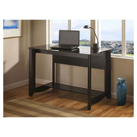 bush furniture aero writing desk aero collection writing desk black bush furniture target