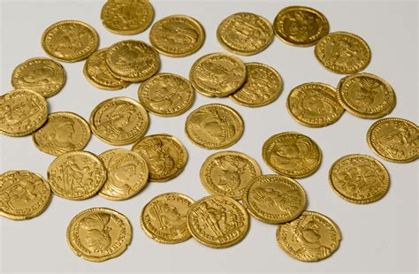 Find In The History 187 Archive 187 Gold Coins Found In Netherlands From Last Days Of