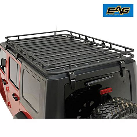 jeep wrangler roof rack for sale eag roof rack cargo basket with mounting brackets for 07