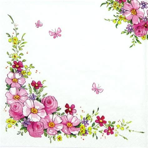 Floral Decoupage Paper - 17 best images about borders on floral border