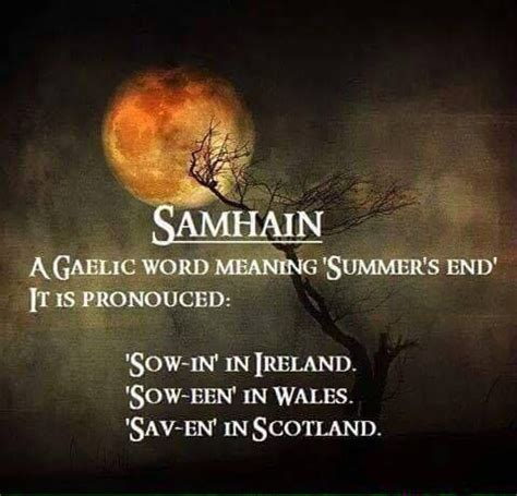 Stand And Deliver Meaning by Pronouncing Samhain Pagan Holidays Samhain Pinterest