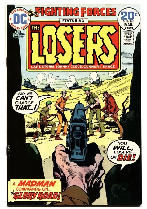 the losers books our fighting forces 147 1974 dc the losers capt joe