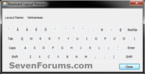 keyboard layout options keyboard layout preview windows 7 help forums
