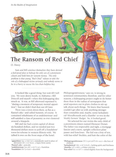 The Ransom Of Chief Worksheet Answers by The Ransom Of Chief Questions And Answers