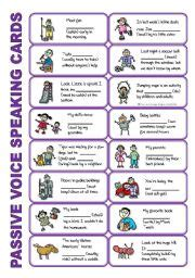 let s teach english passive voice board game english worksheets set 5 passive voice tenses