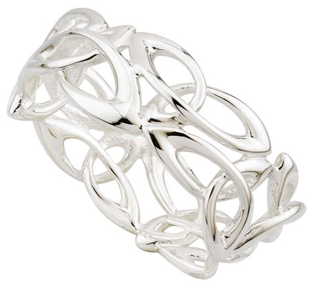 ring sterling silver fusion celtic knot