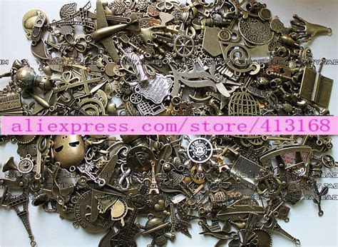 wholesale and charms in bulk mix zakka alloy assorted bulk metal charms diy wholesale