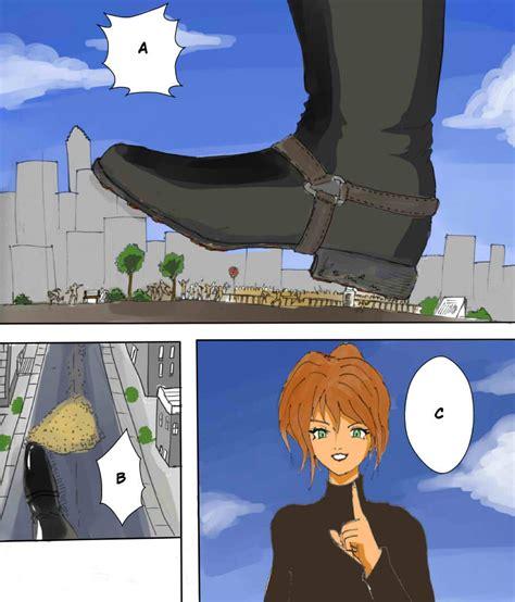 anime giantess anime giantess city wallpaper
