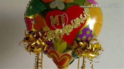 you tube como hacer arreglos con dulces y globos arreglos de graduaci 211 n graduation gift youtube
