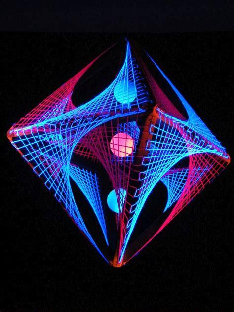 3d String - 55cm 3d string deko w 252 rfel quot neon sunset quot